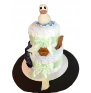 Gâteau de pampers 2 étages...